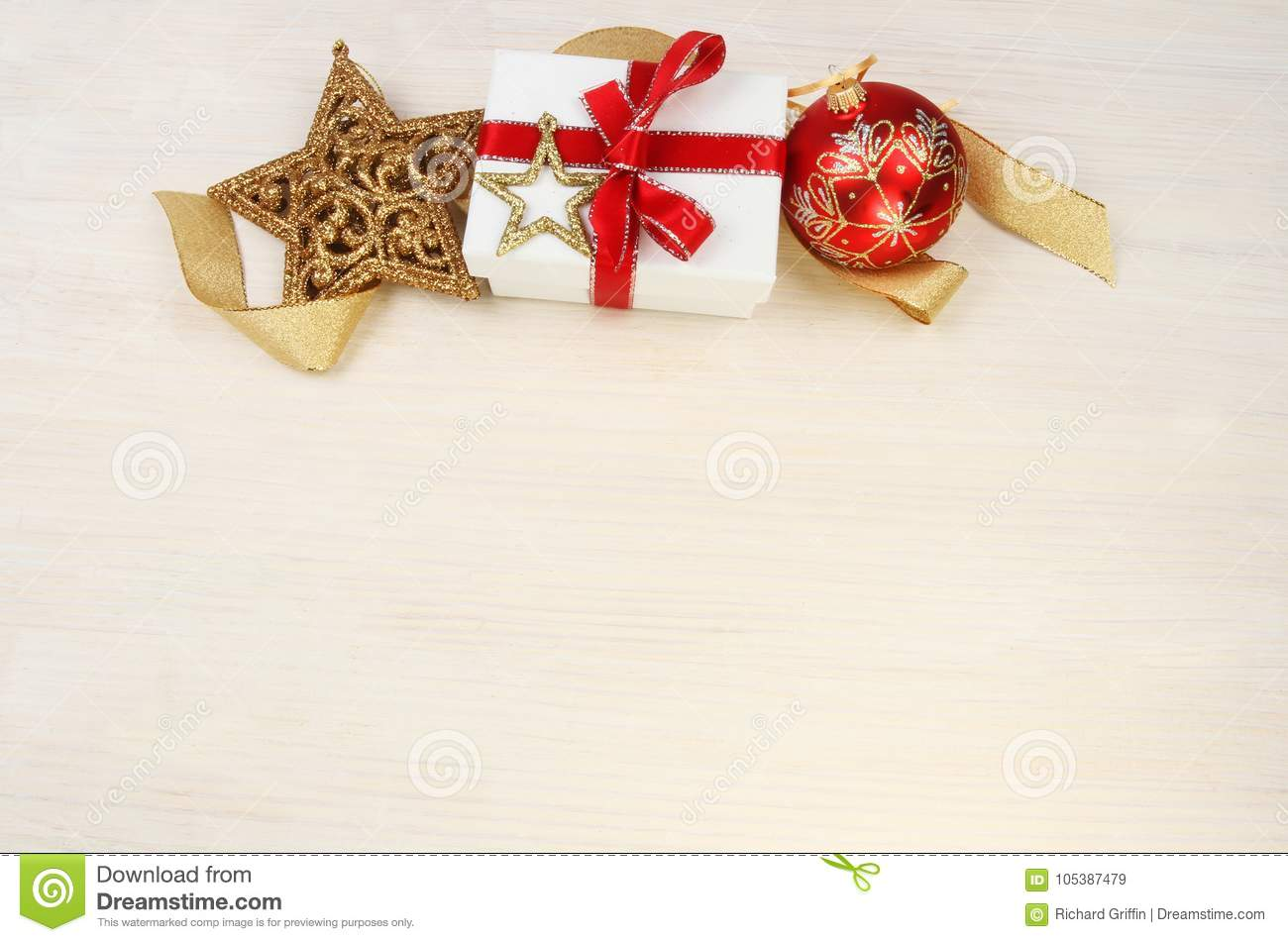 Download Christmas gift theme stock image. Image of bauble, glitter - 105387479