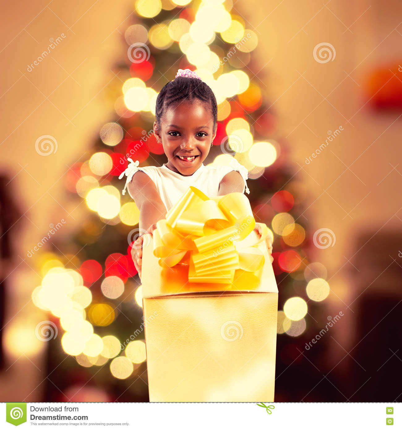 download christmas gifts for children stock photo image of child amazed 82214828
