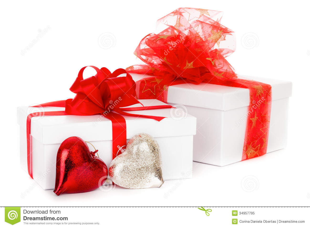 Christmas Gifts stock image. Image of decoration, festive - 34957795