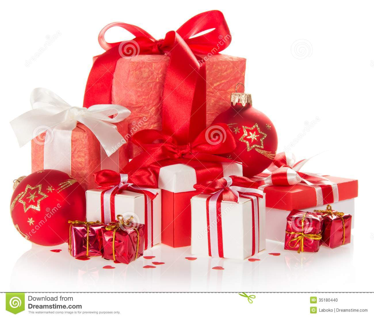 Presents Toys Christmas : Christmas gifts and toys stock photo image of composition