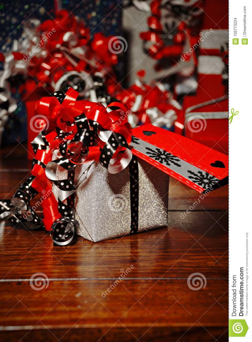 Christmas Gifts wrapped in wonderful coloured paper
