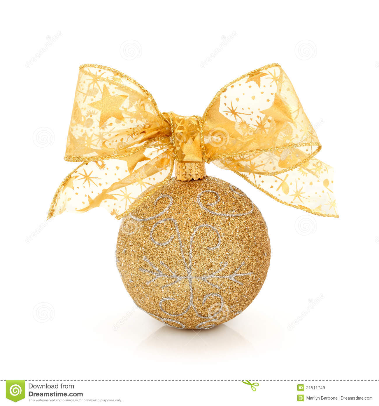 Christmas glitter ball royalty free stock images image