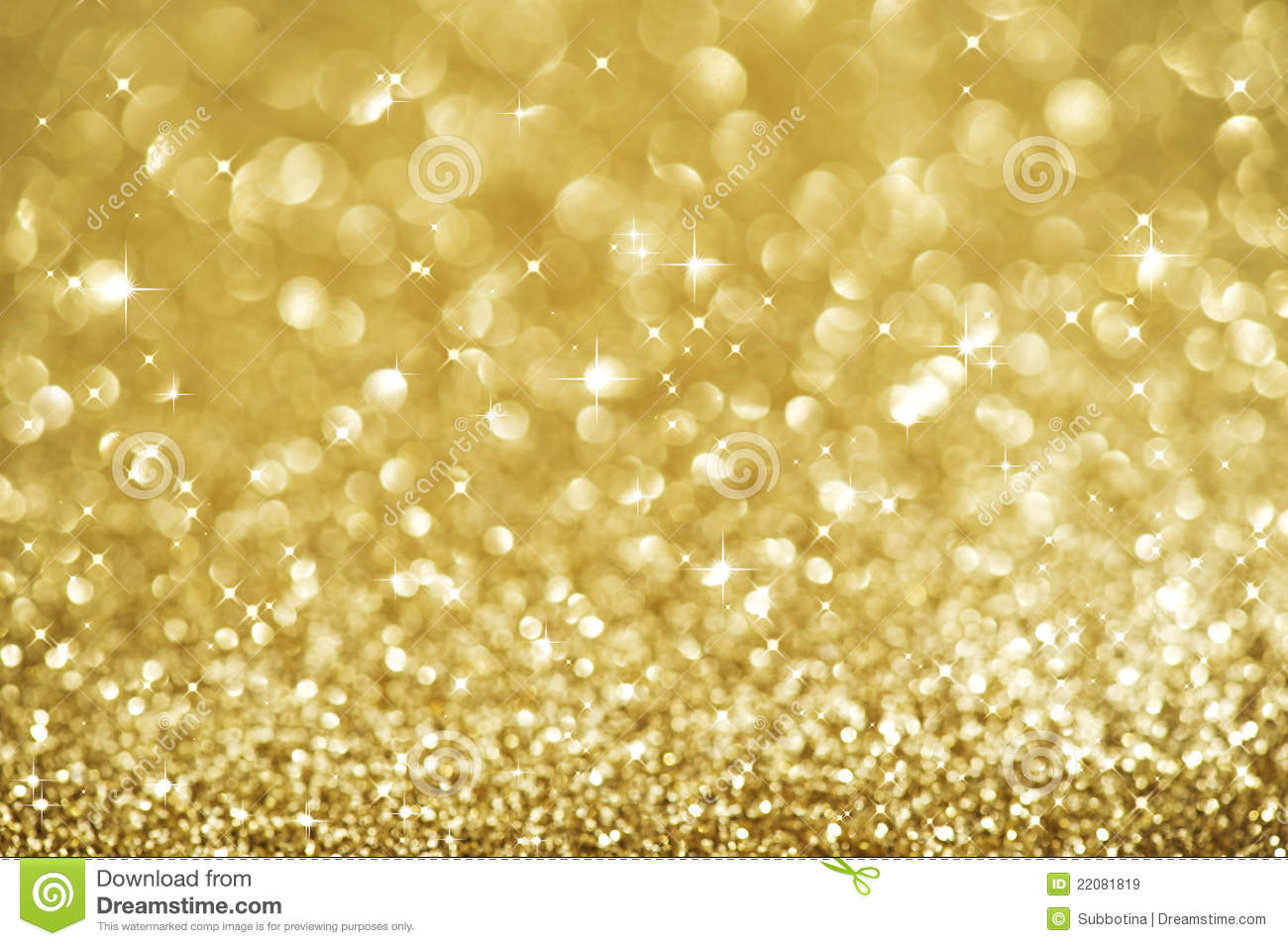 Christmas Gold Blinking Background Royalty Free Stock Images - Image ...