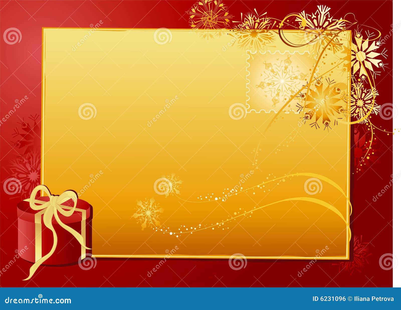 Christmas gold letter