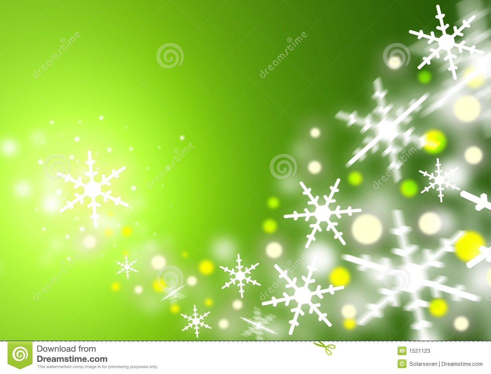 Christmas Green Stock Photos Image 1521123