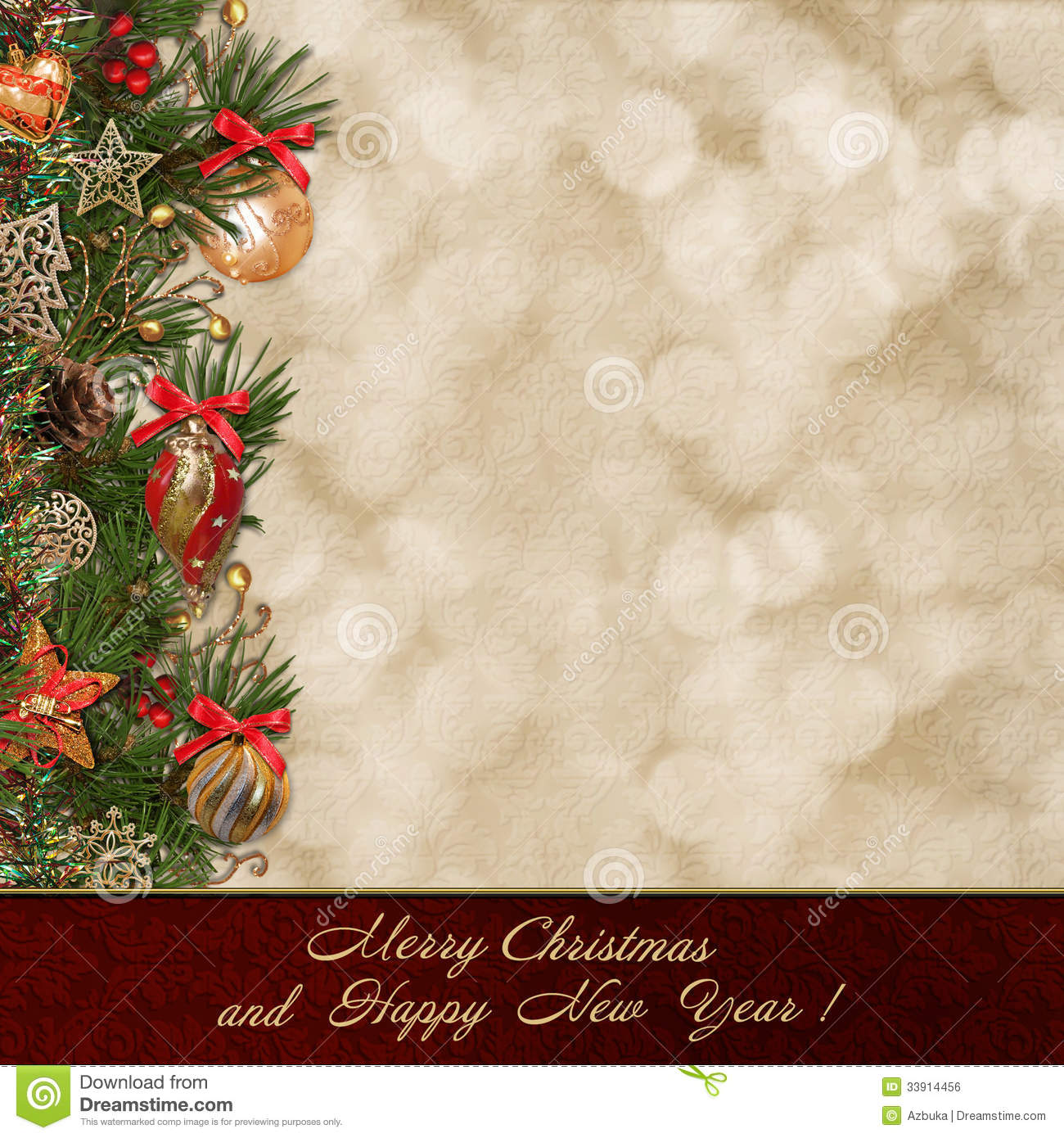 Christmas greeting background stock illustration illustration of christmas greeting background kristyandbryce Image collections