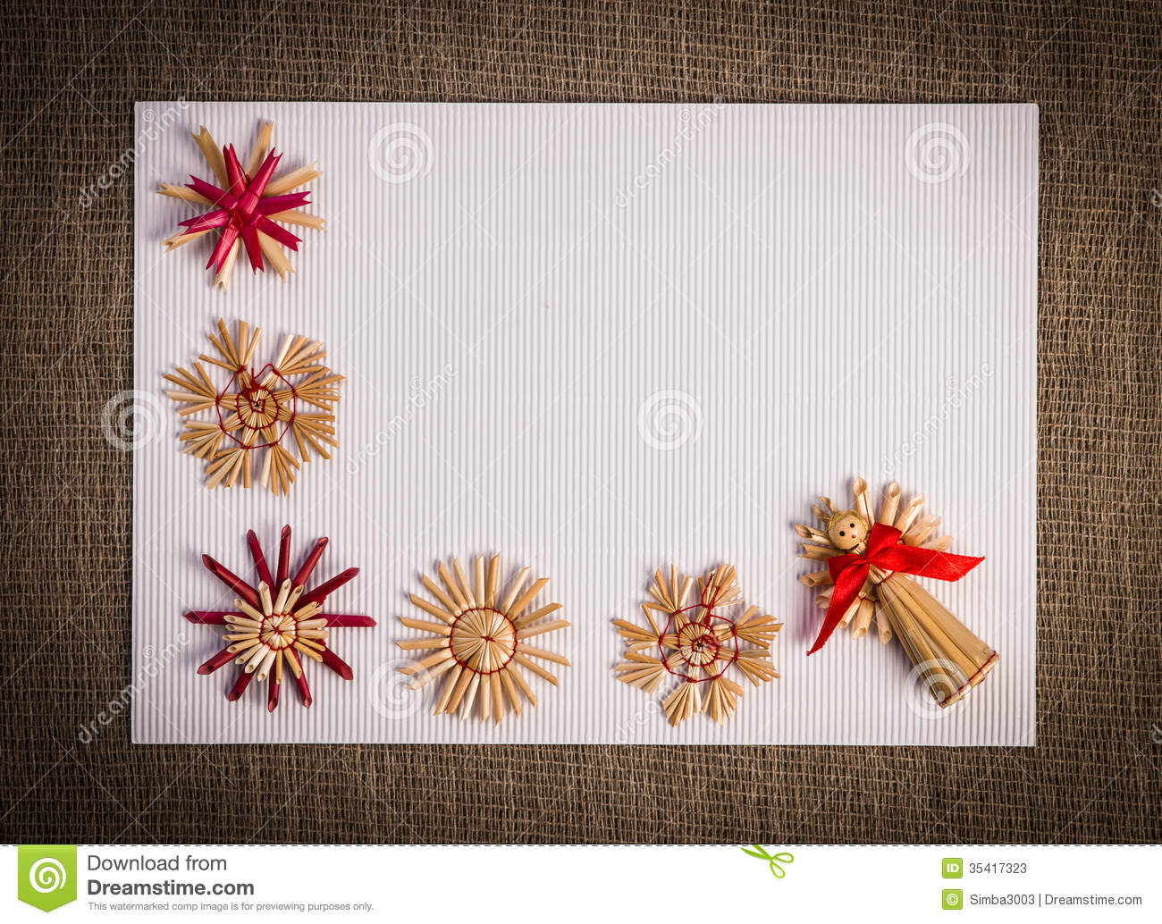 Christmas Greeting Card Background Stock Photos - Image: 35417323