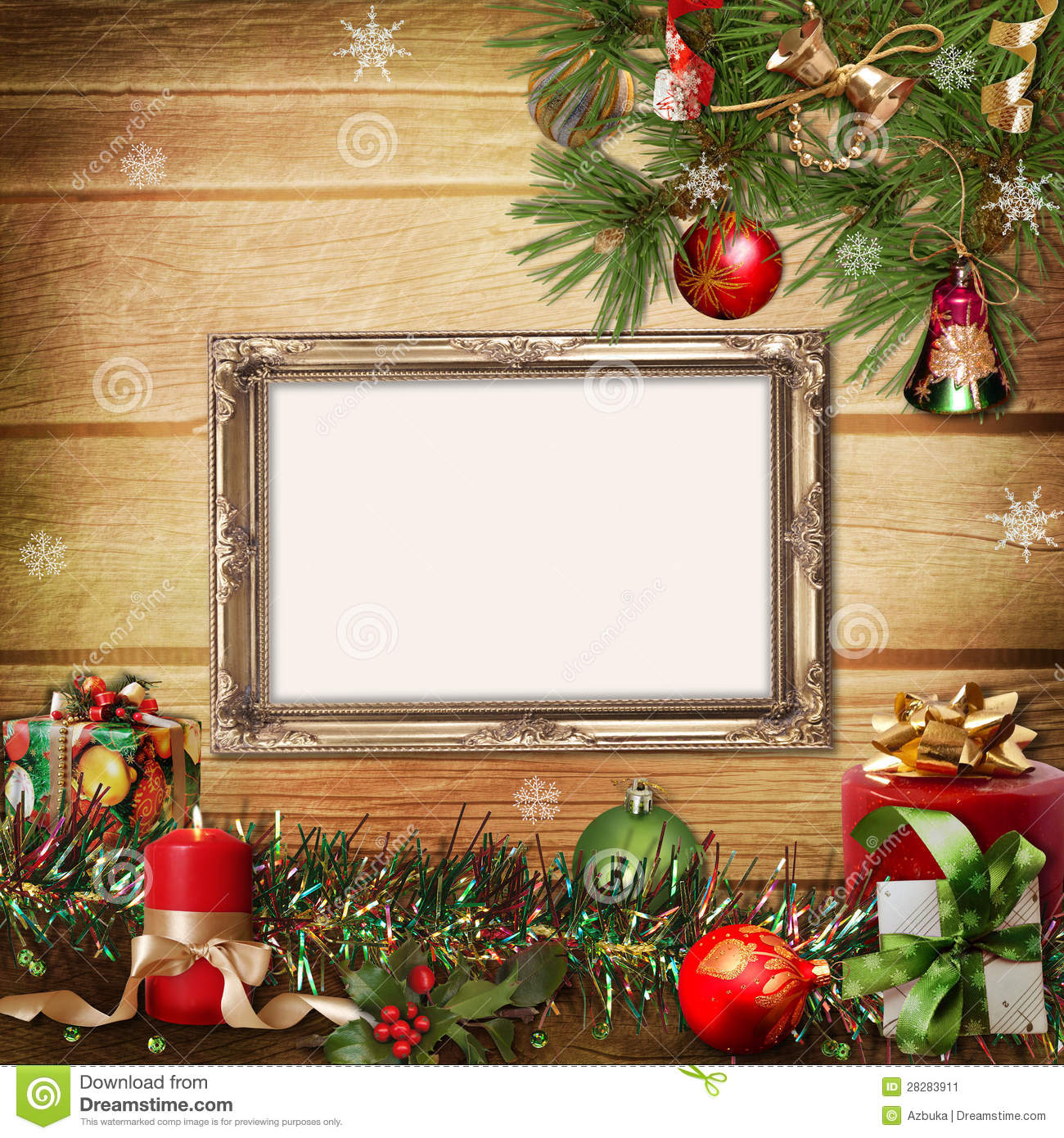 Christmas greeting card with frames for a family stock christmas greeting card with frames for a family kristyandbryce Image collections