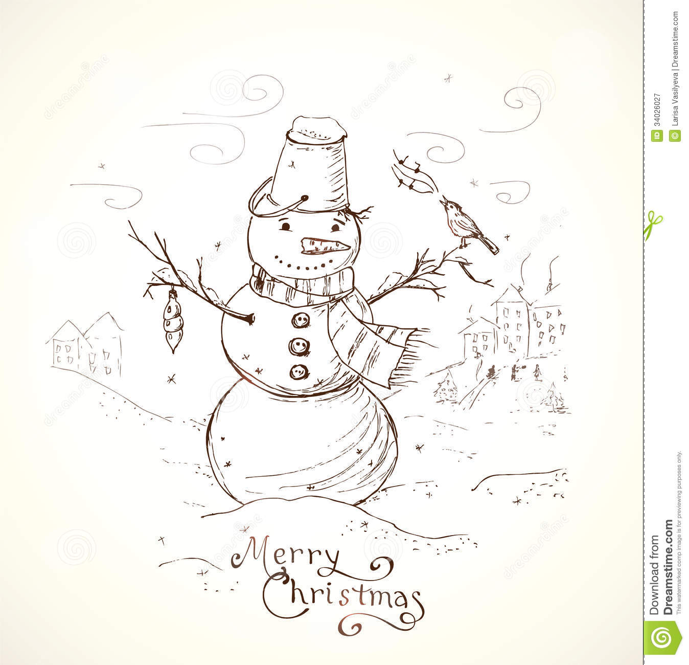 Christmas Greeting Card Royalty Free Stock Photography - Image ...