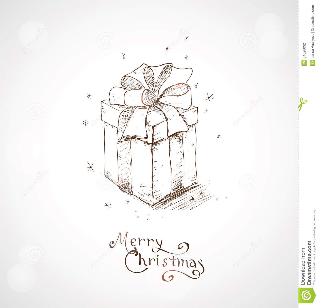 Christmas Greeting Card 4 Stock Vector Illustration Of