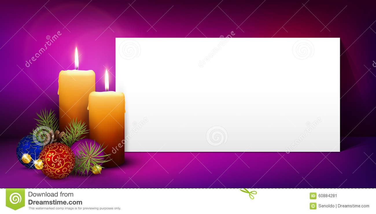 Christmas Greeting Card Template With White Paper Panel – Free White Paper Template