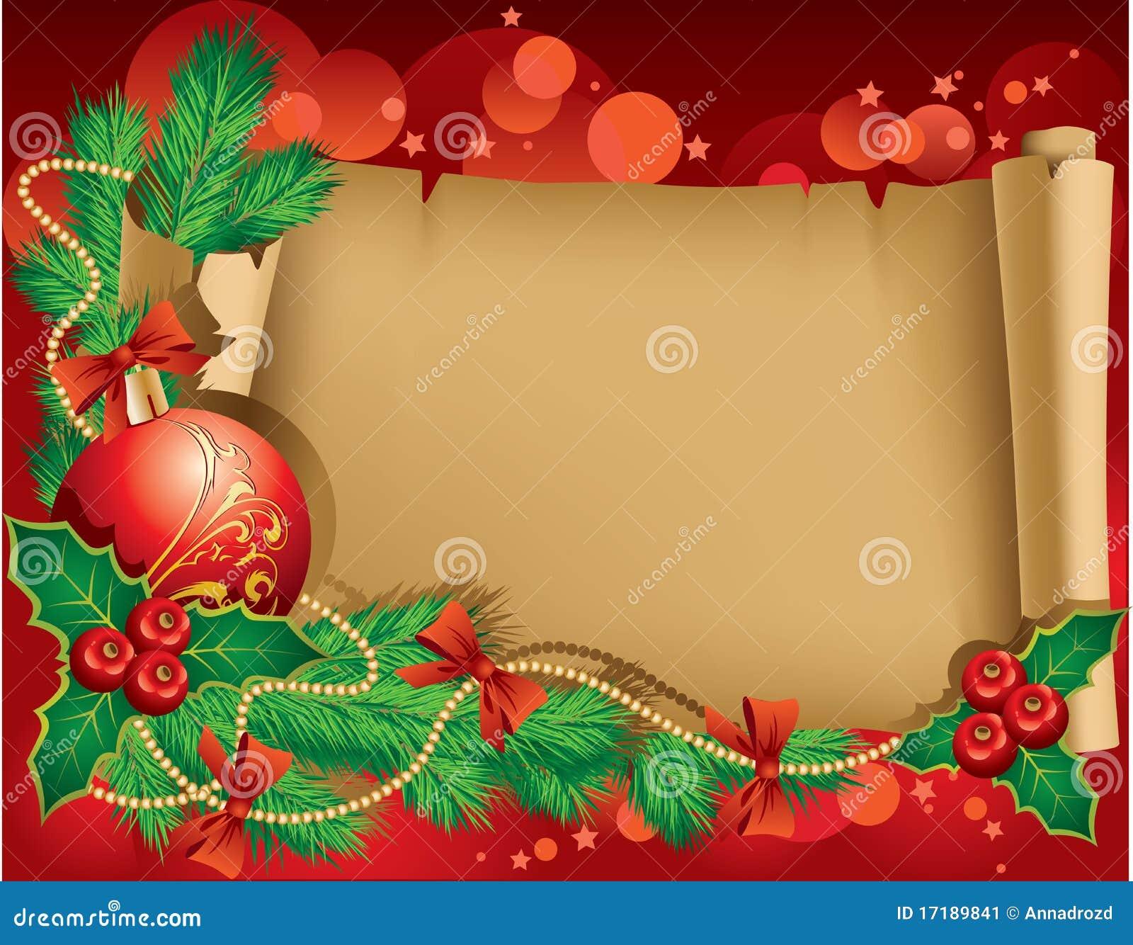 Christmas Greetings Stock Vector Illustration Of Winter 17189841