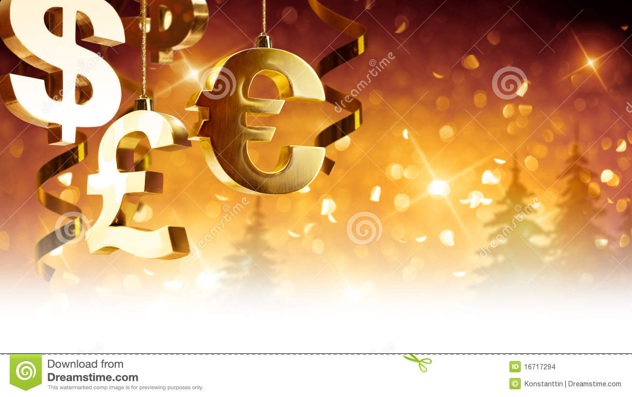 Christmas Greetings For Business Stock Photo Image Of Decoration