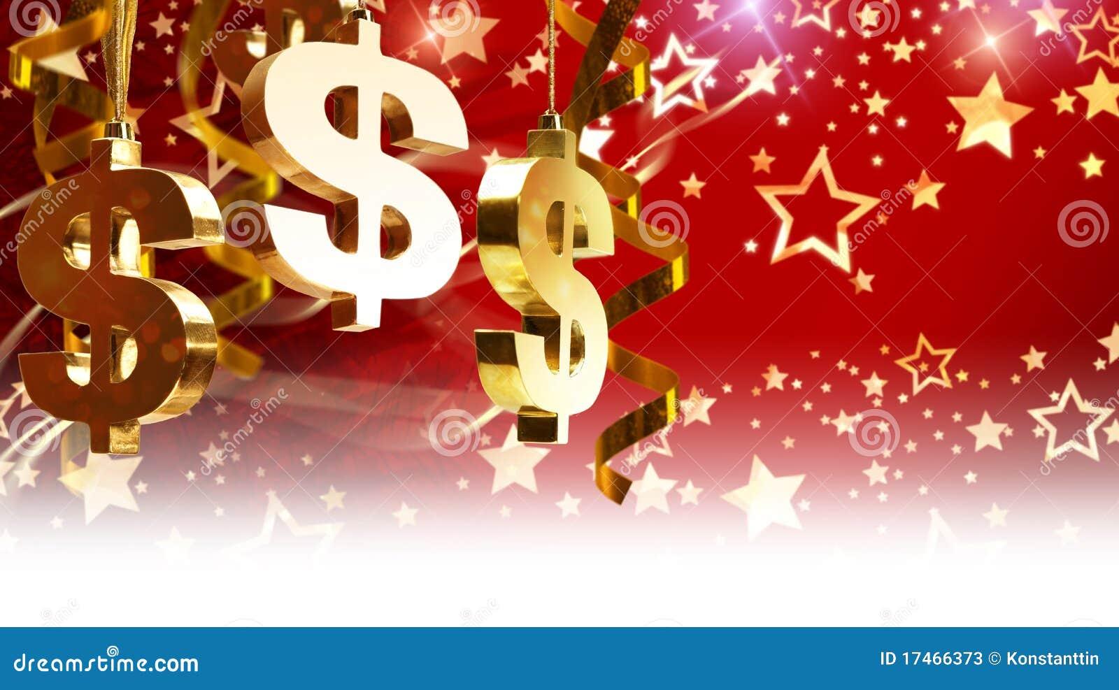 Christmas Greetings For Business Stock Image Image Of