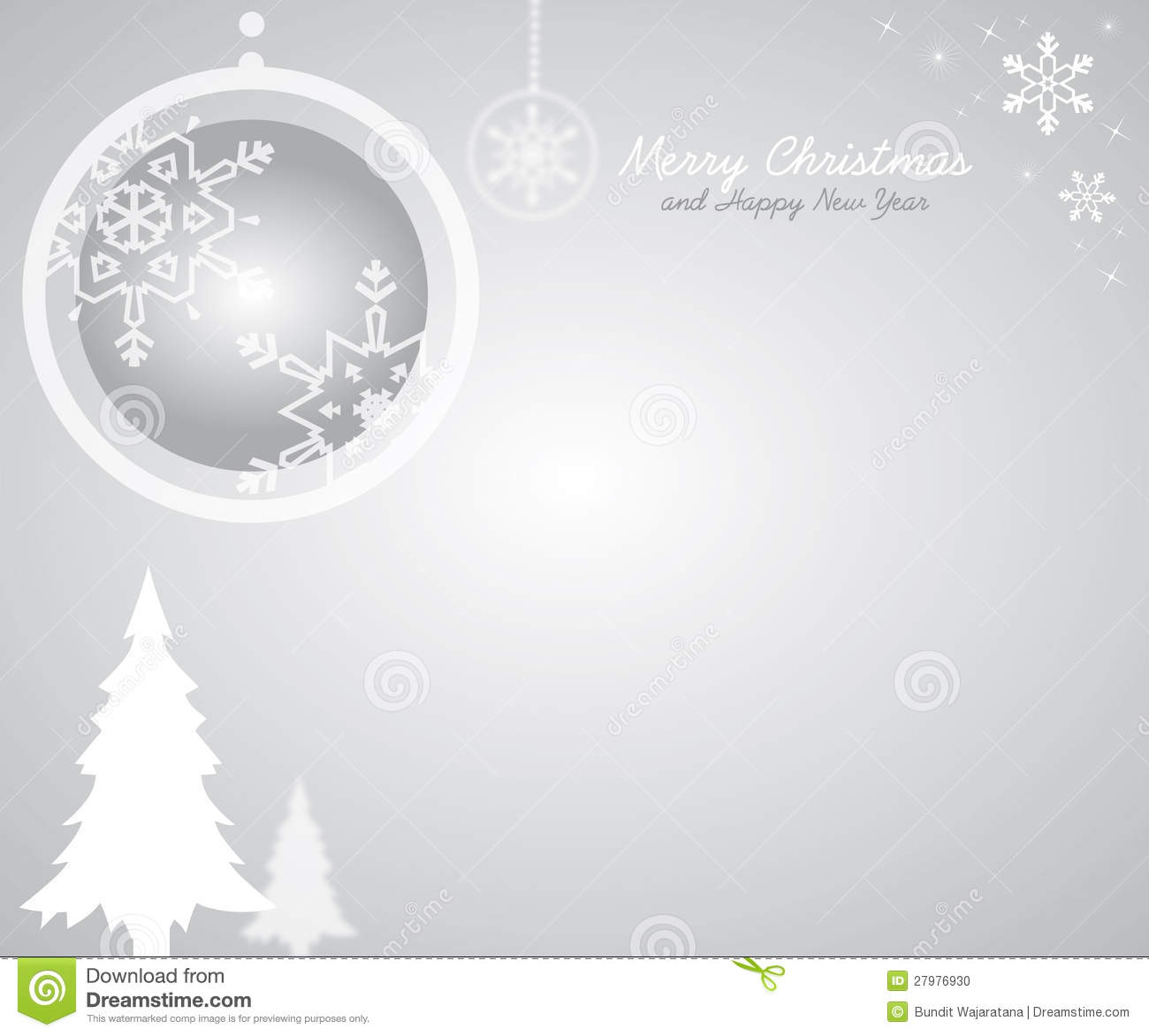 Christmas Grey Background Stock Vector Image Of Abstract