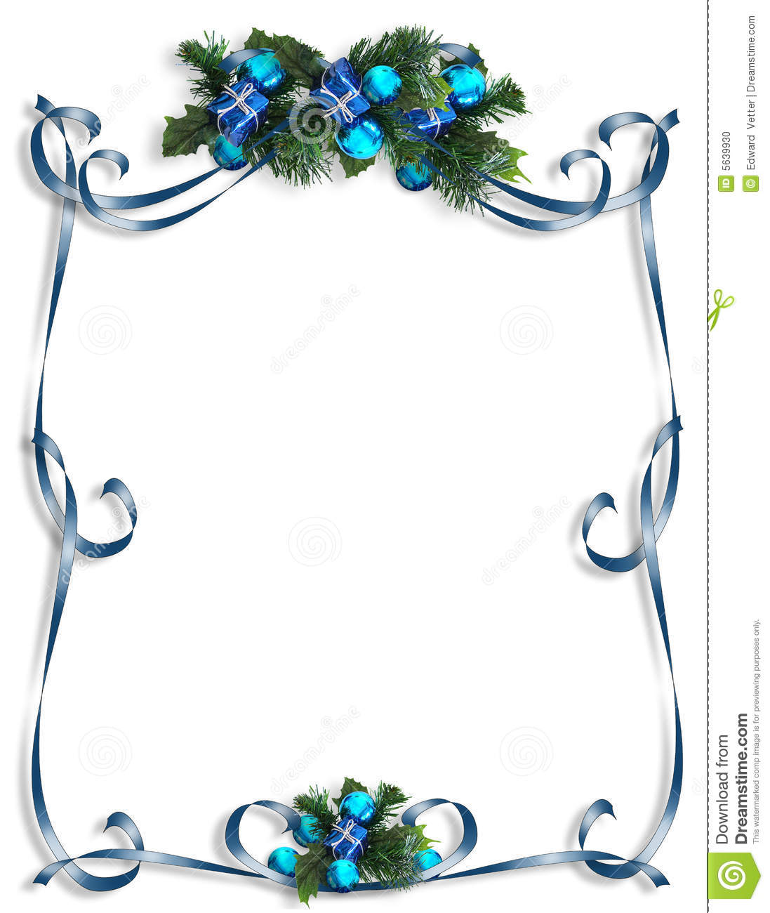 Christmas Hanukkah Background Border Or Frame Illustration 5639930