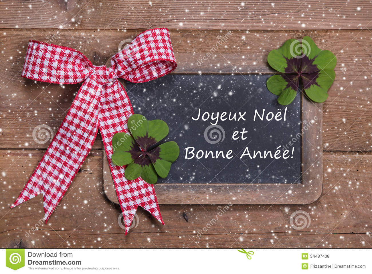 christmas and happy new year in french words