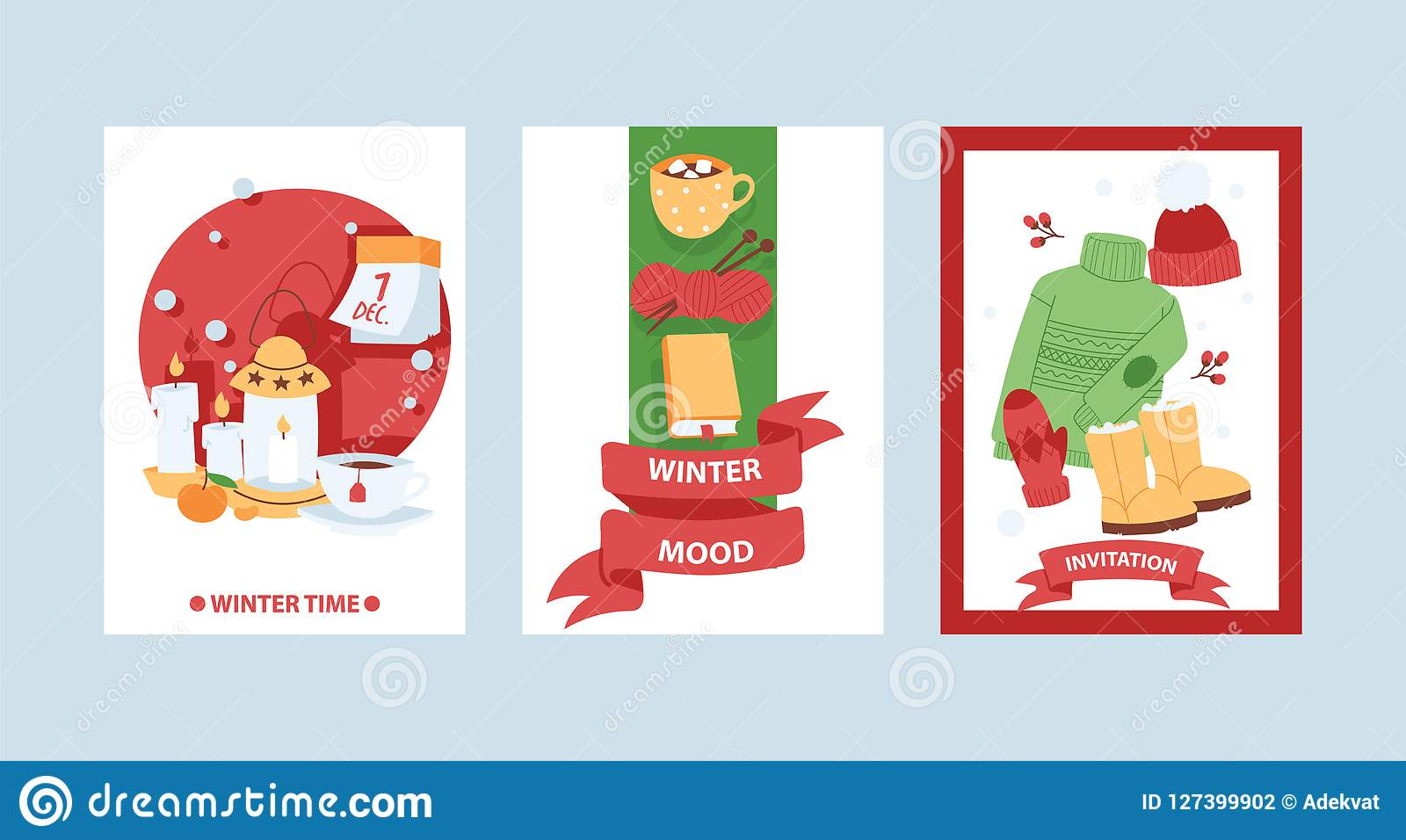 Christmas 2019 Happy New Year Greeting Card Vector Background Banner