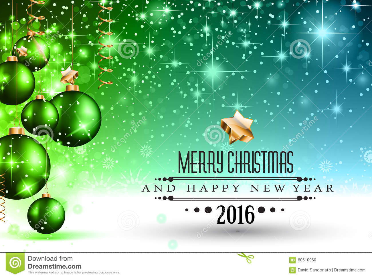2016 christmas and happy new year party flyer vector illustration cartoondealercom 60611002