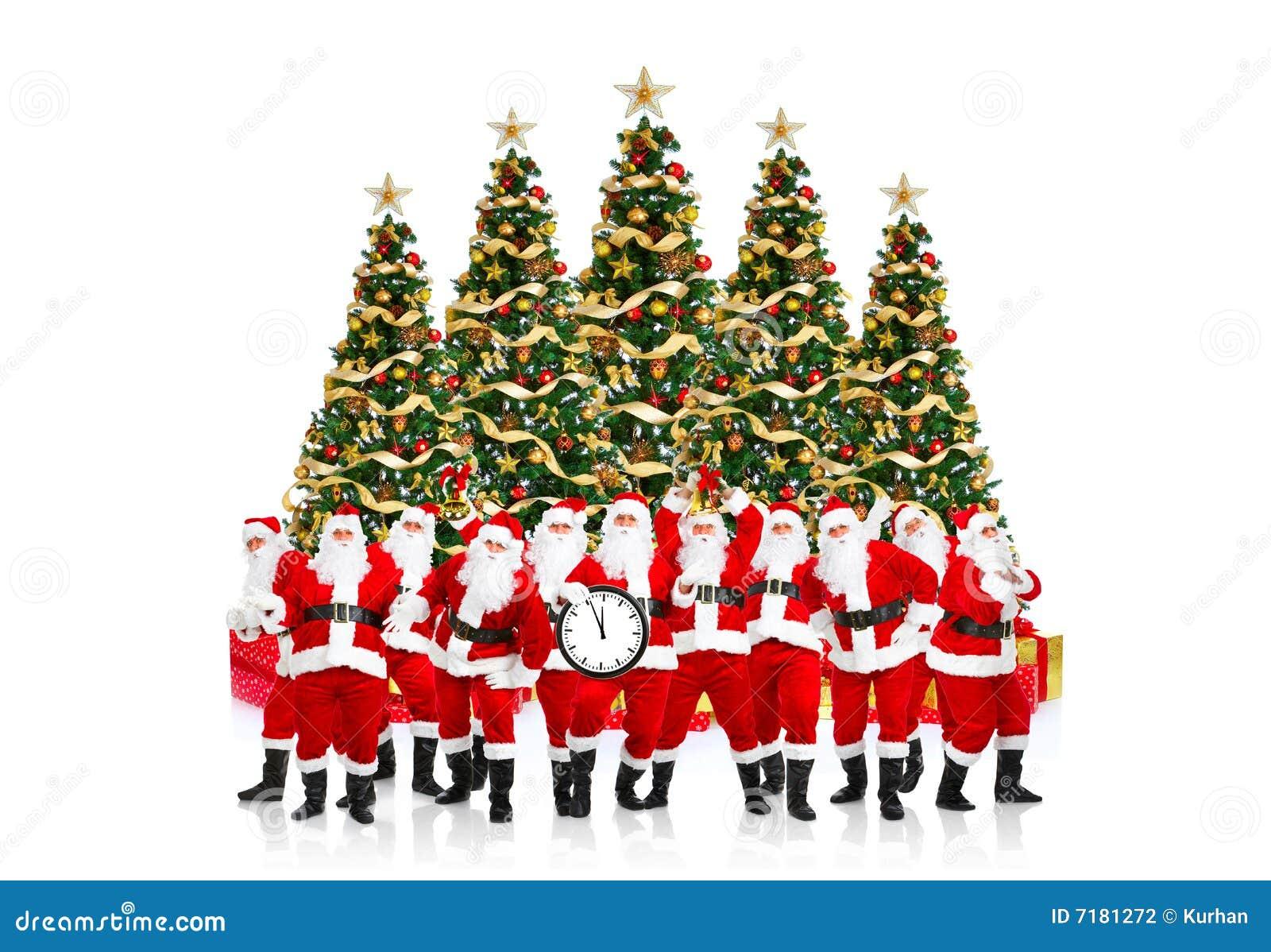 Christmas happy santa