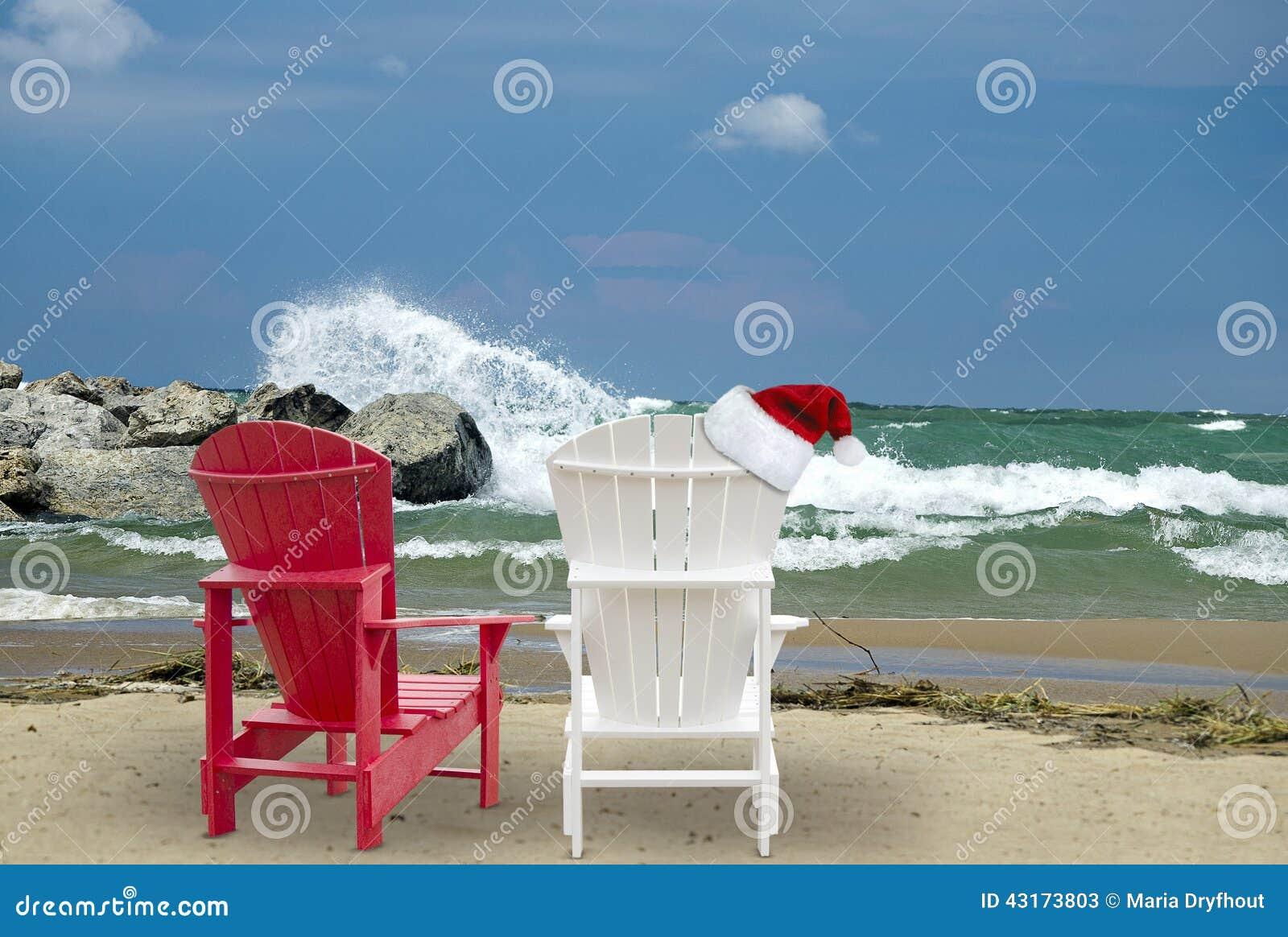 "pollyfan fucks  -3"" Christmas Hat On Adirondack Chair Stock Image Image Of"