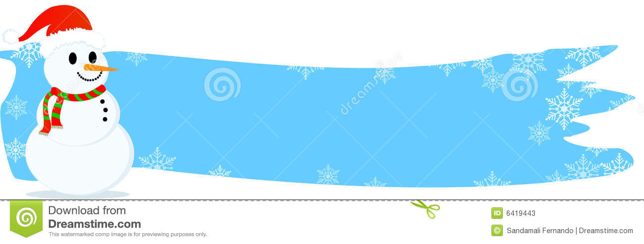 Christmas Header / Banner Stock Photos - Image: 6419443