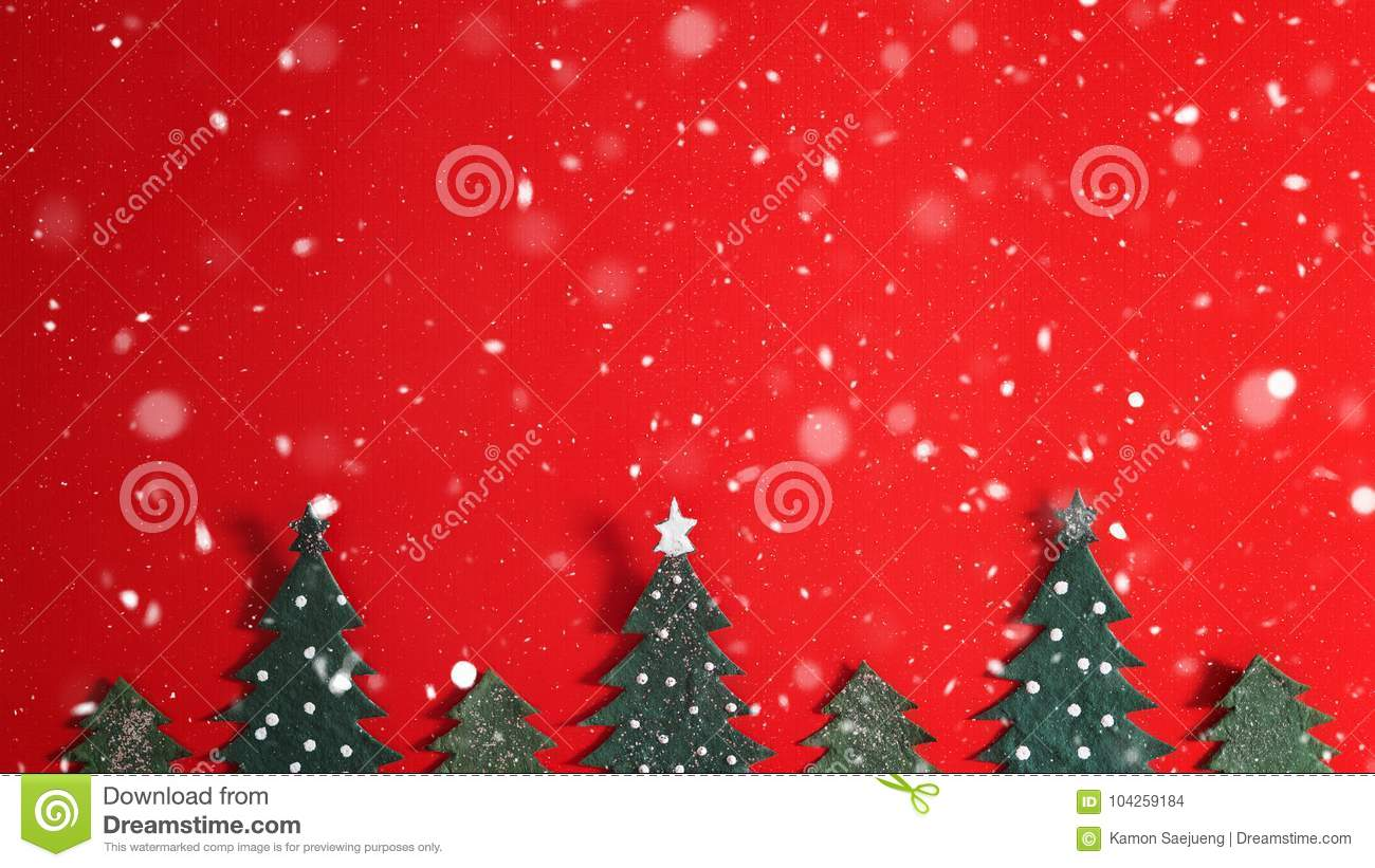 Christmas holiday background with Santa and decorations. Christmas landscape with gifts and snow. Merry christmas and happy new ye