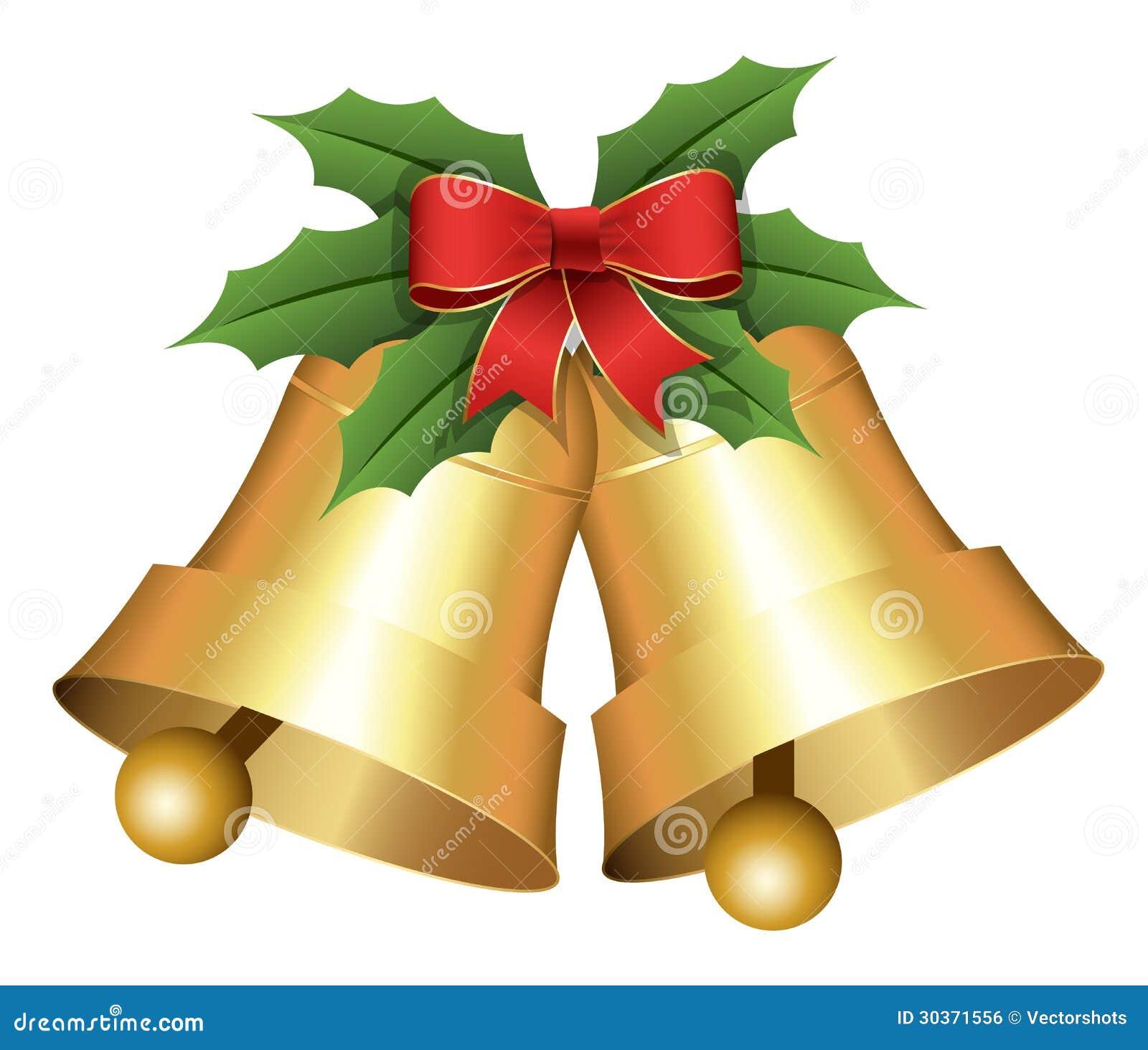Beautiful Christmas Bells Royalty Free Stock