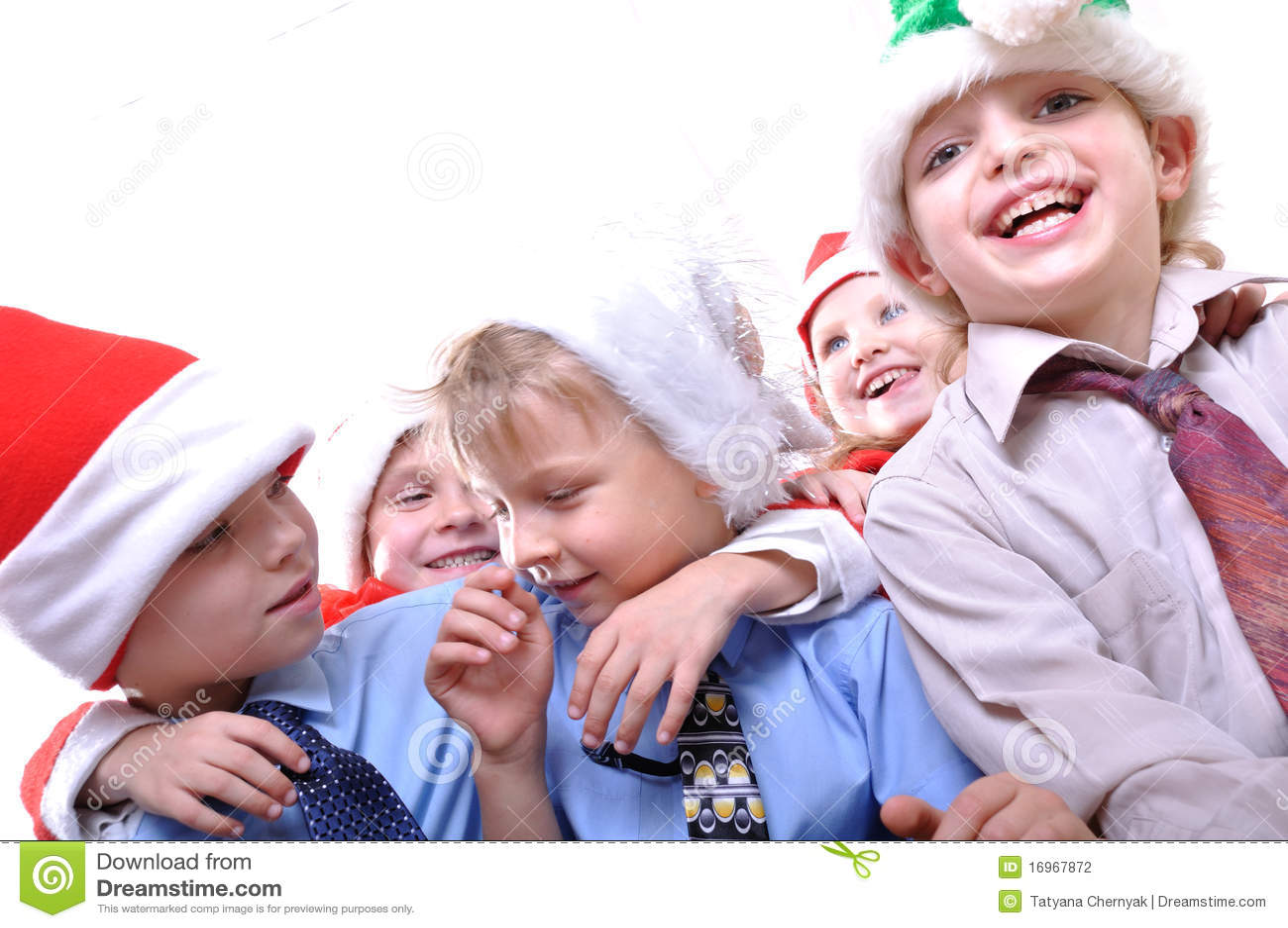 Christmas holiday children