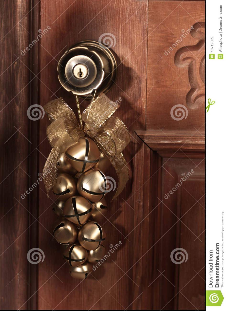 Christmas Holiday Decor Sleigh Bells Stock Image Image