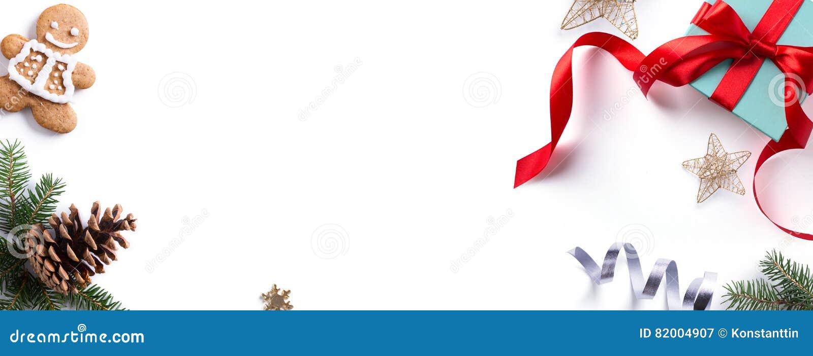 Christmas holiday Decoration element; Christmas border