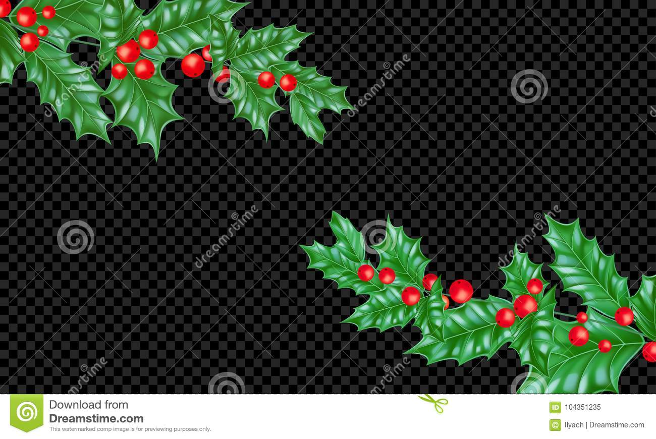 Christmas Holiday Greeting Card Background Template New Year Fir Or