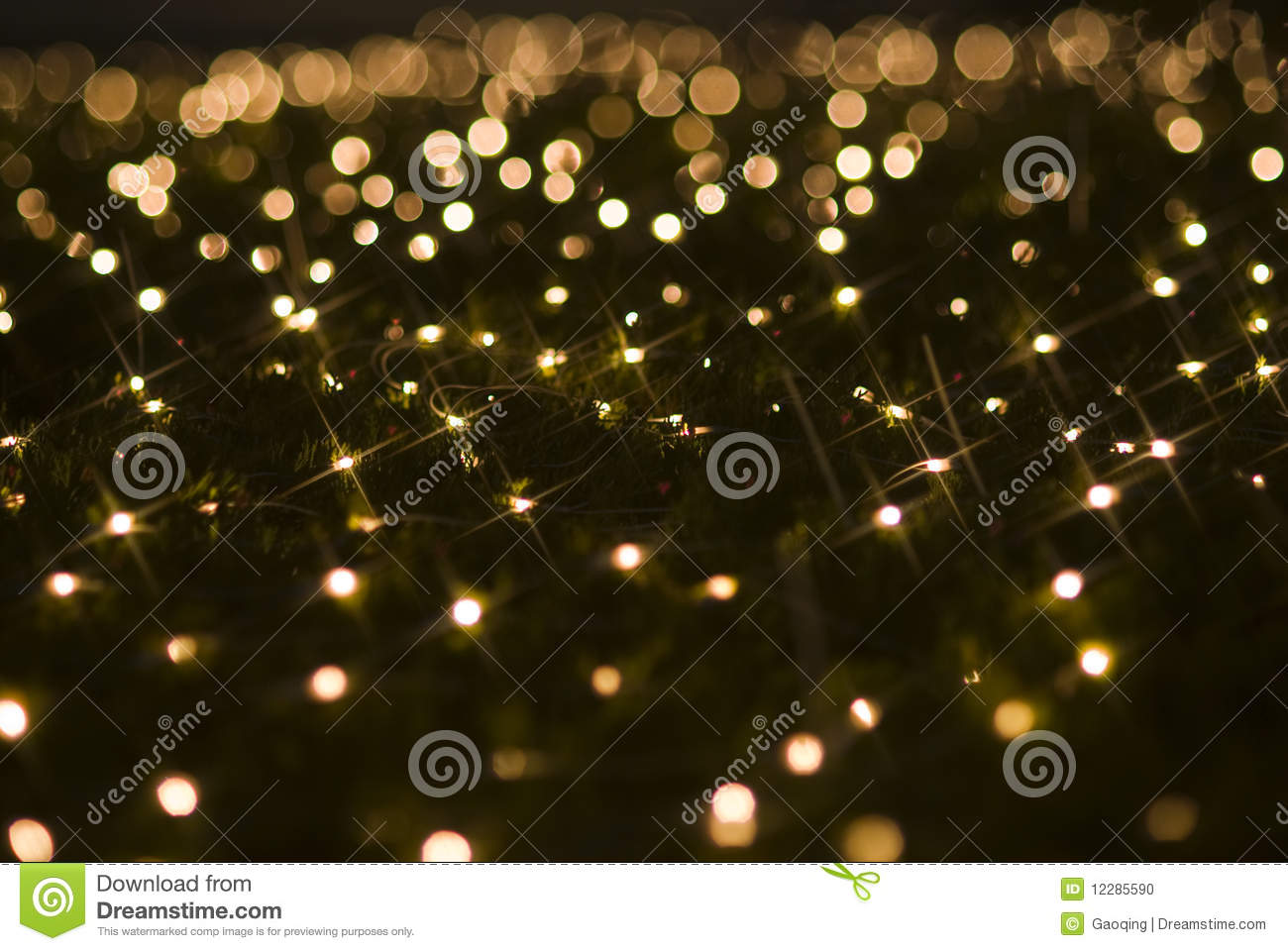 Christmas holiday lights effects sparkling sequins