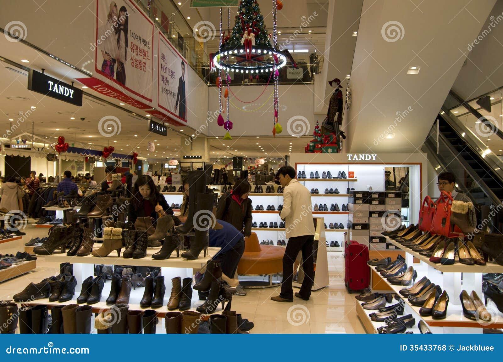 Burbank Mall Shoe Stores
