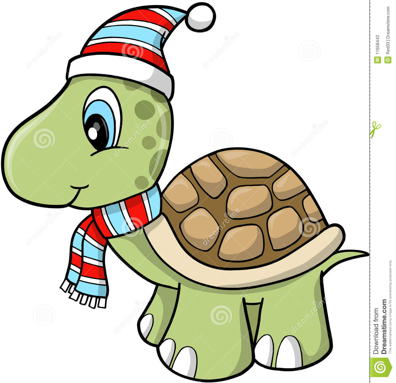 Christmas Holiday Turtle Stock Photos Image 11658443