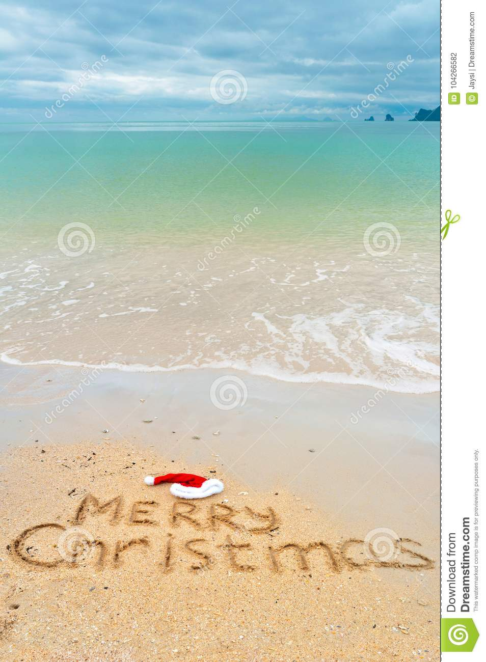Christmas Holiday Vacation Concept, Merry Christmas Written On ...