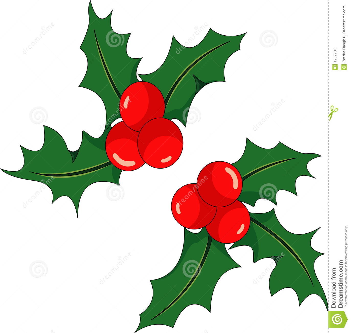 Christmas holly stock image image 1287701 for Holl image