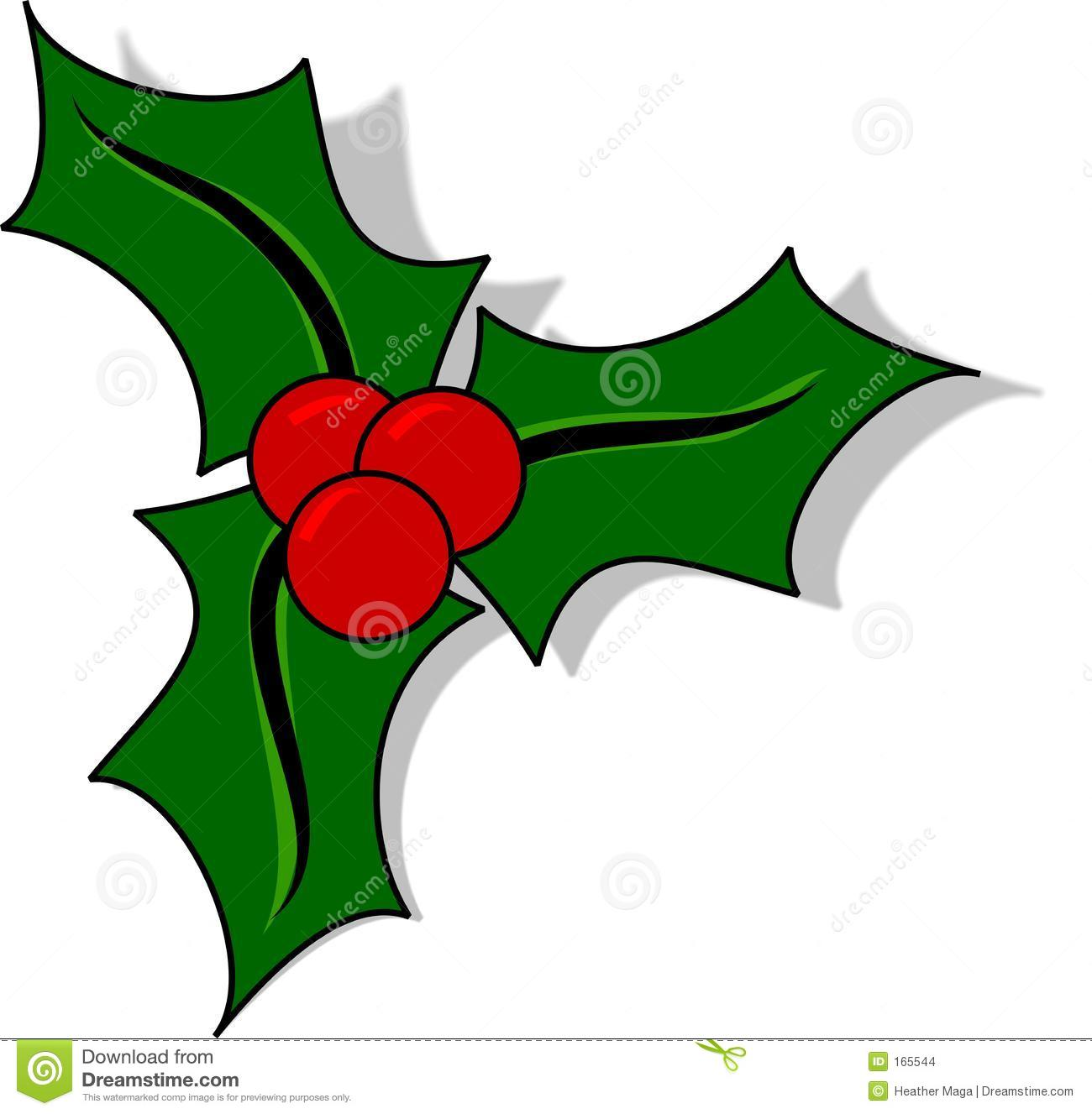 Christmas Holly Stock Images - Image: 165544