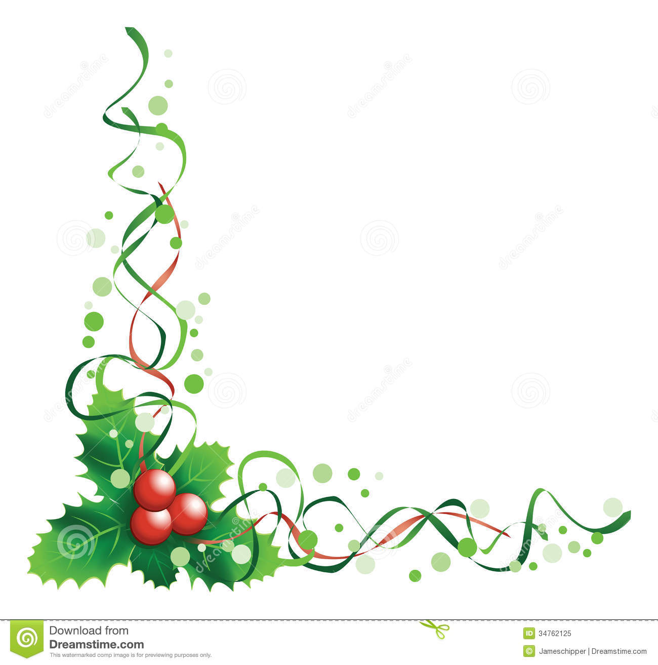 Christmas Holly Royalty Free Stock Photo - Image: 34762125