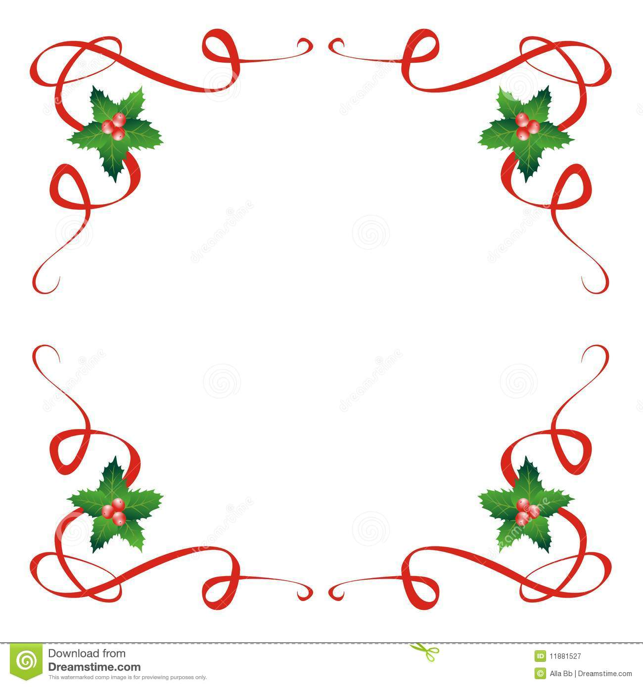Wire Christmas Ribbon