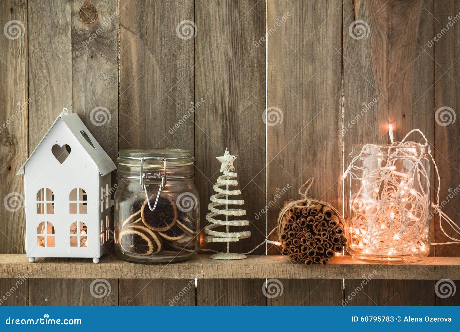 Christmas home decor stock photo image 60795783 for At home christmas