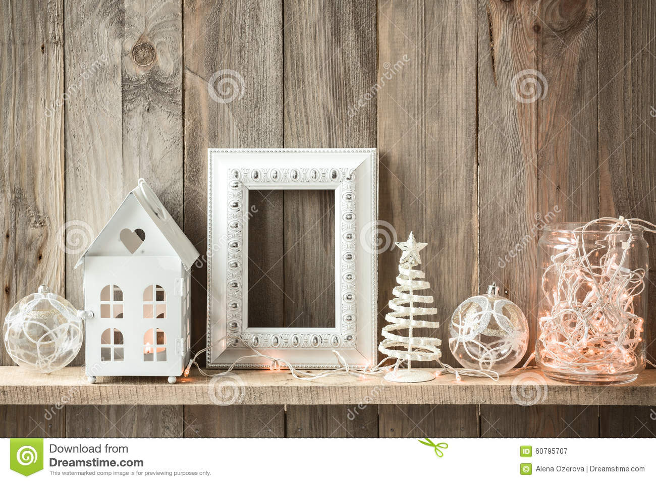 Christmas home decor stock image image of retro for Organic home decor