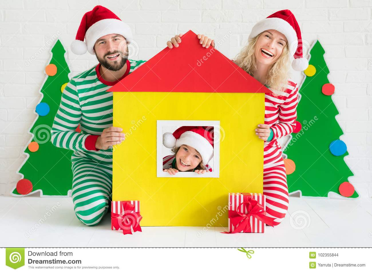 Christmas Home Holiday Design Concept