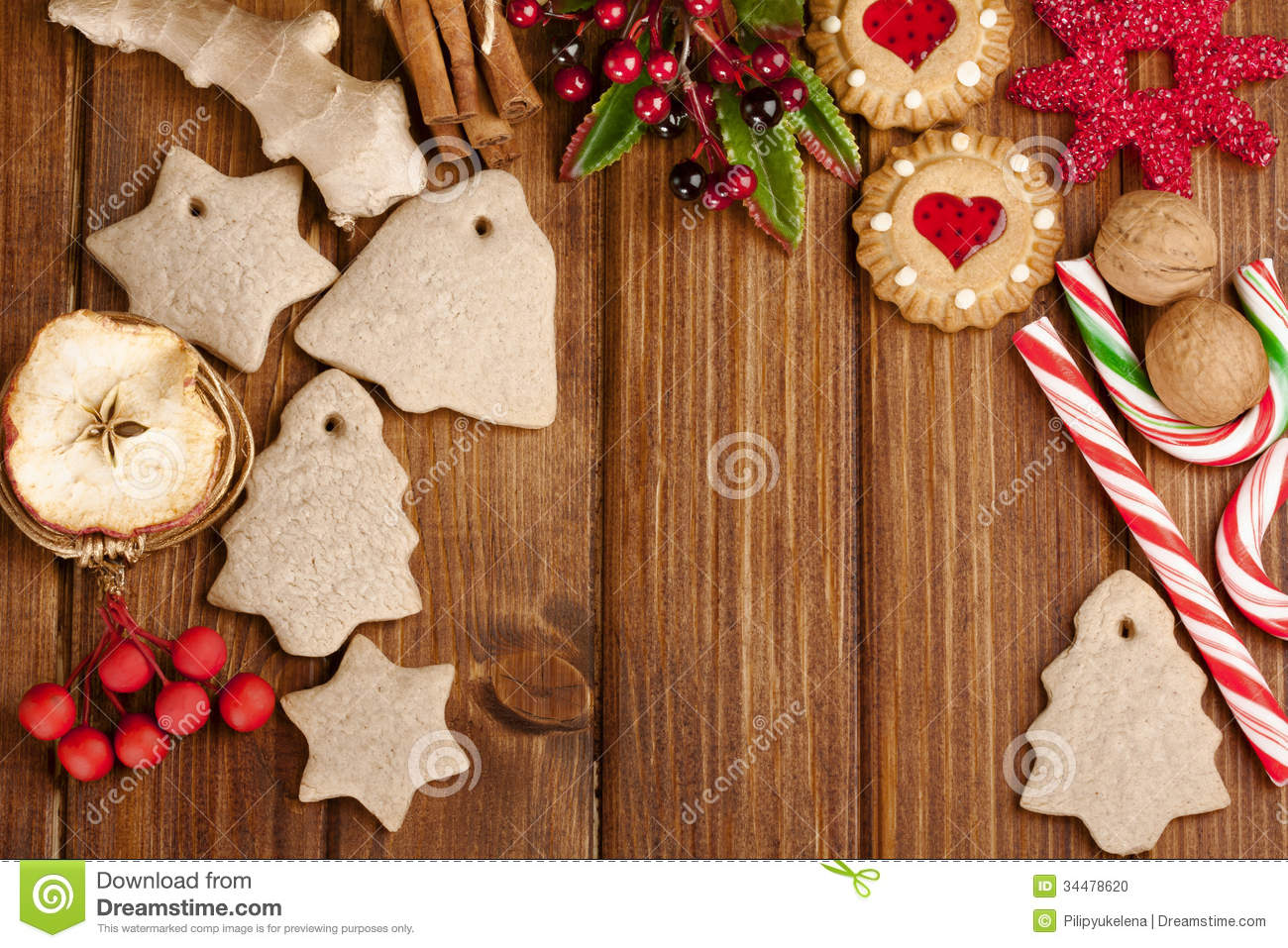 #3B1C08 Christmas Homemade Gingerbread Cookies Spice And  6431 décoration noel home made 1300x957 px @ aertt.com