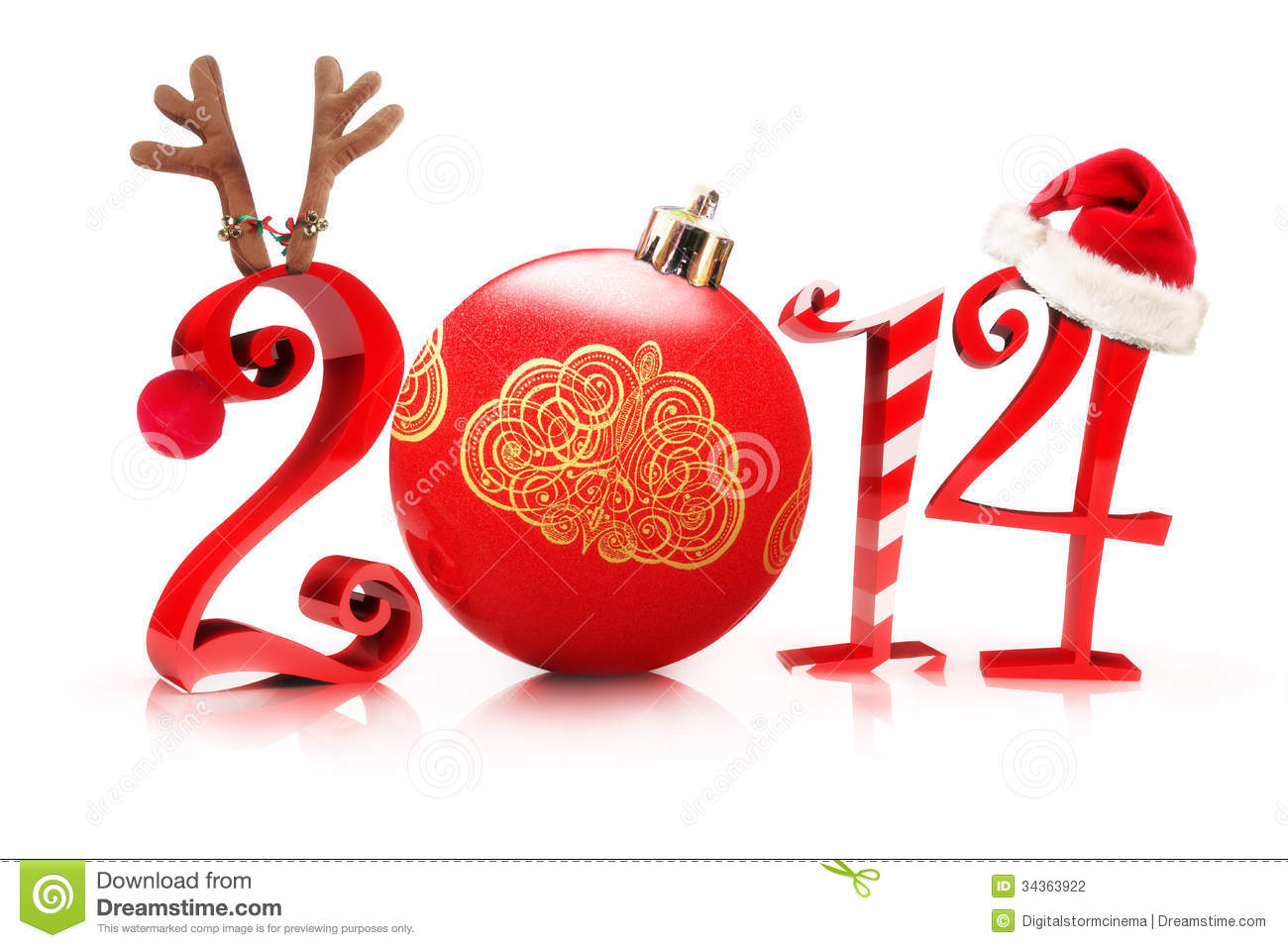 New Years Hat Clipart