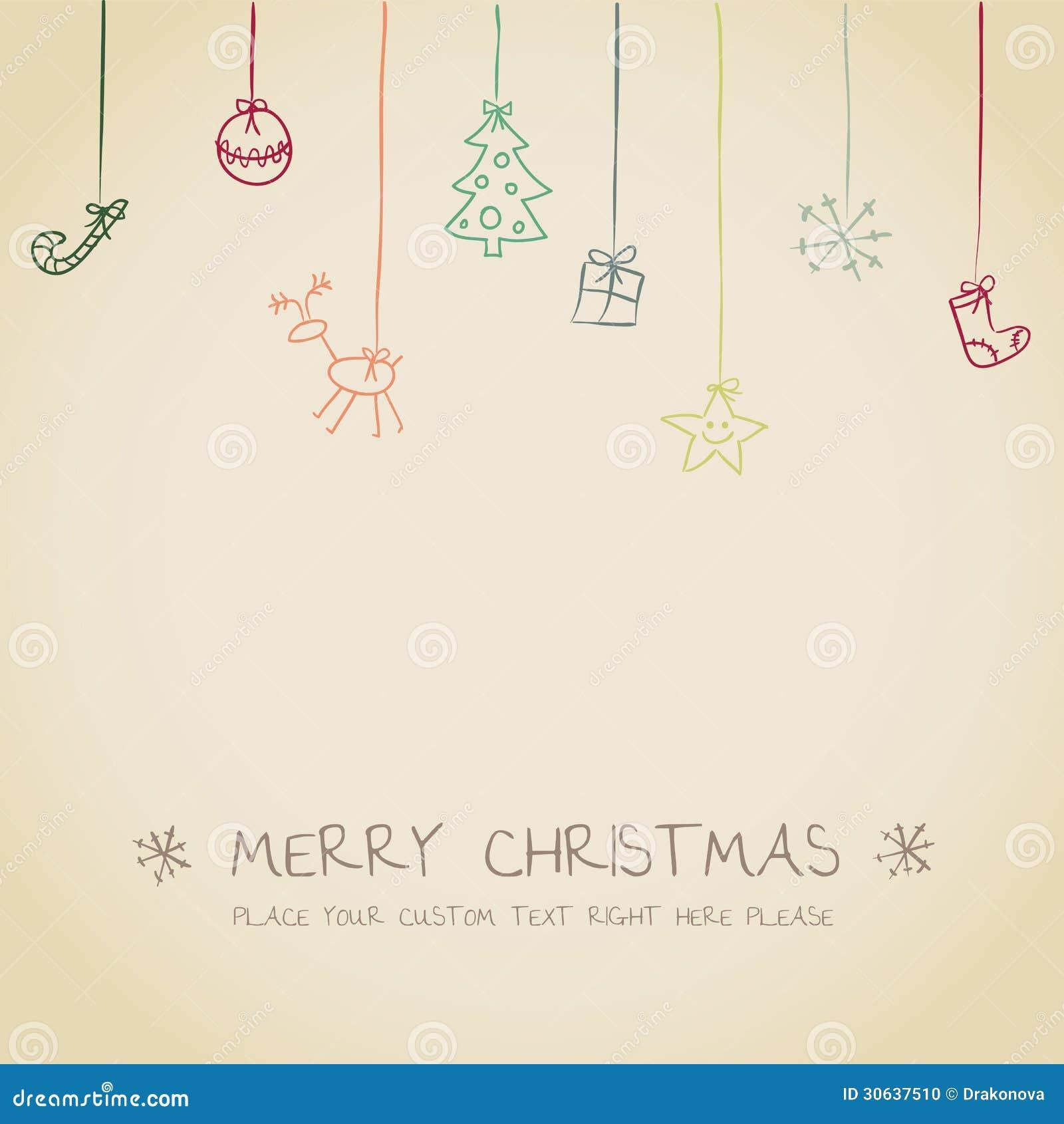 Christmas Invitation Card Stock Photo - Image: 30637510