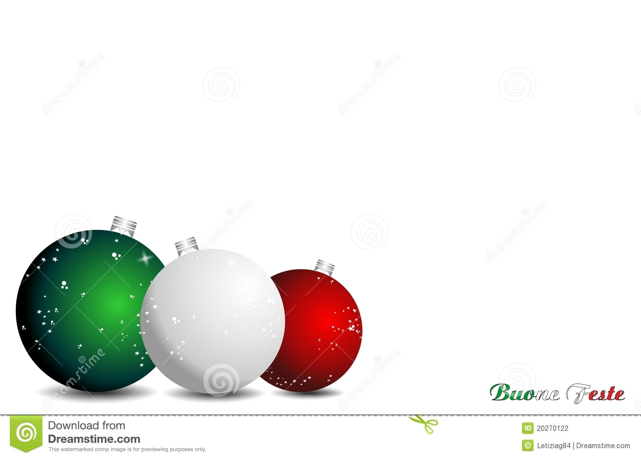 Christmas Italian Background Stock Illustration - Illustration of ...