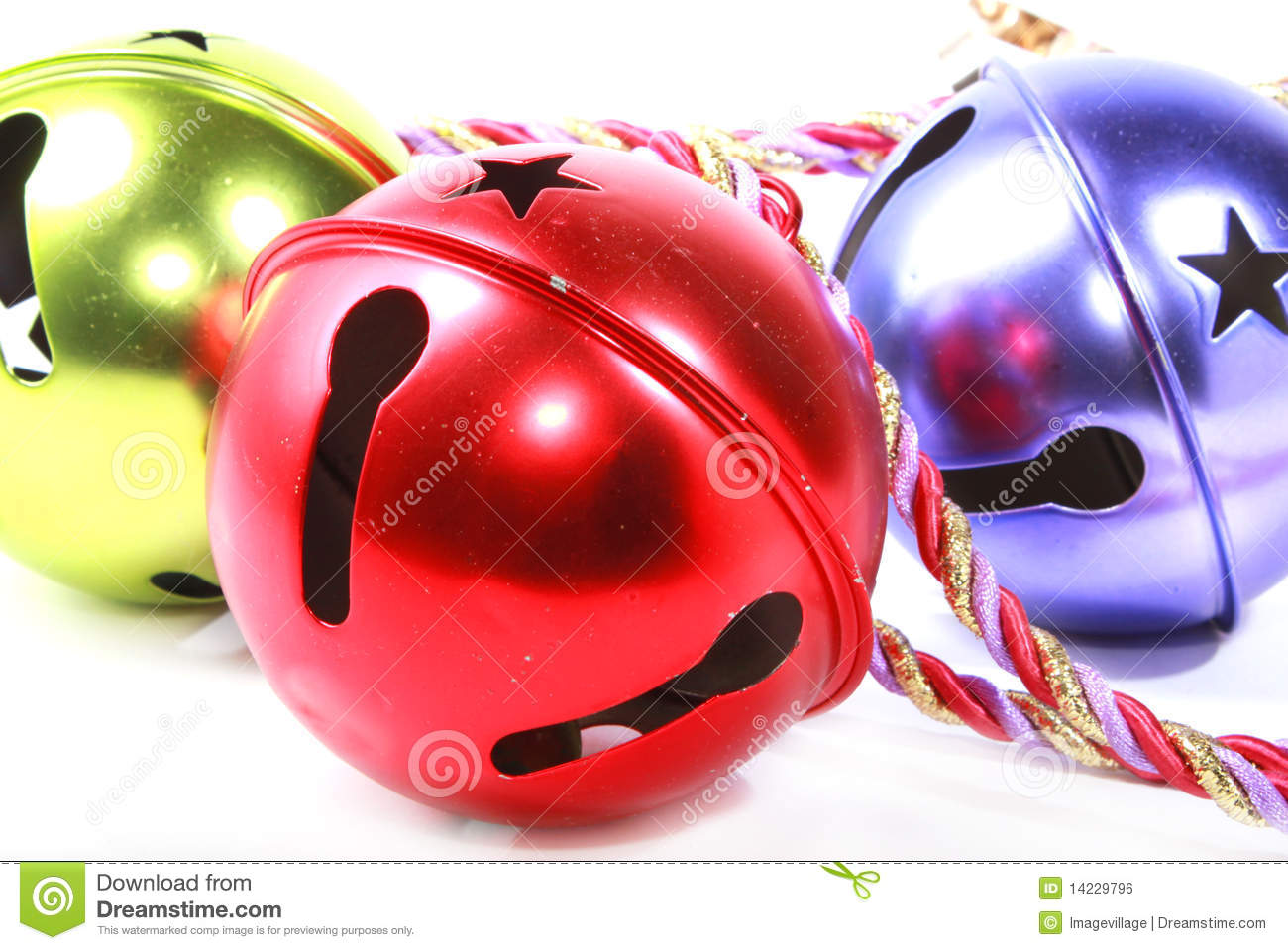 Christmas Jingle Bells Royalty Free Stock Image - Image: 14229796