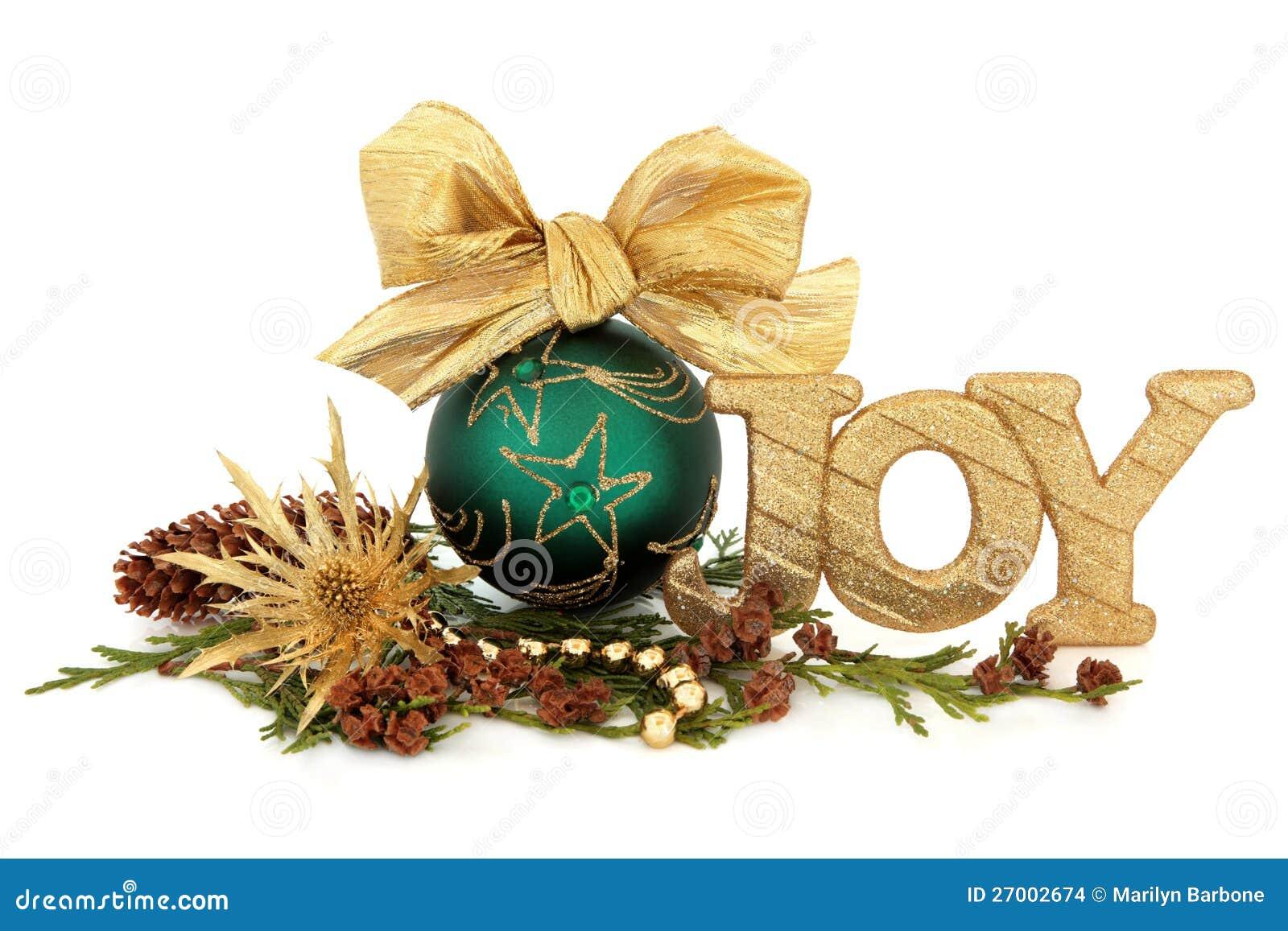 Christmas Joy Decoration Stock Images Image 27002674