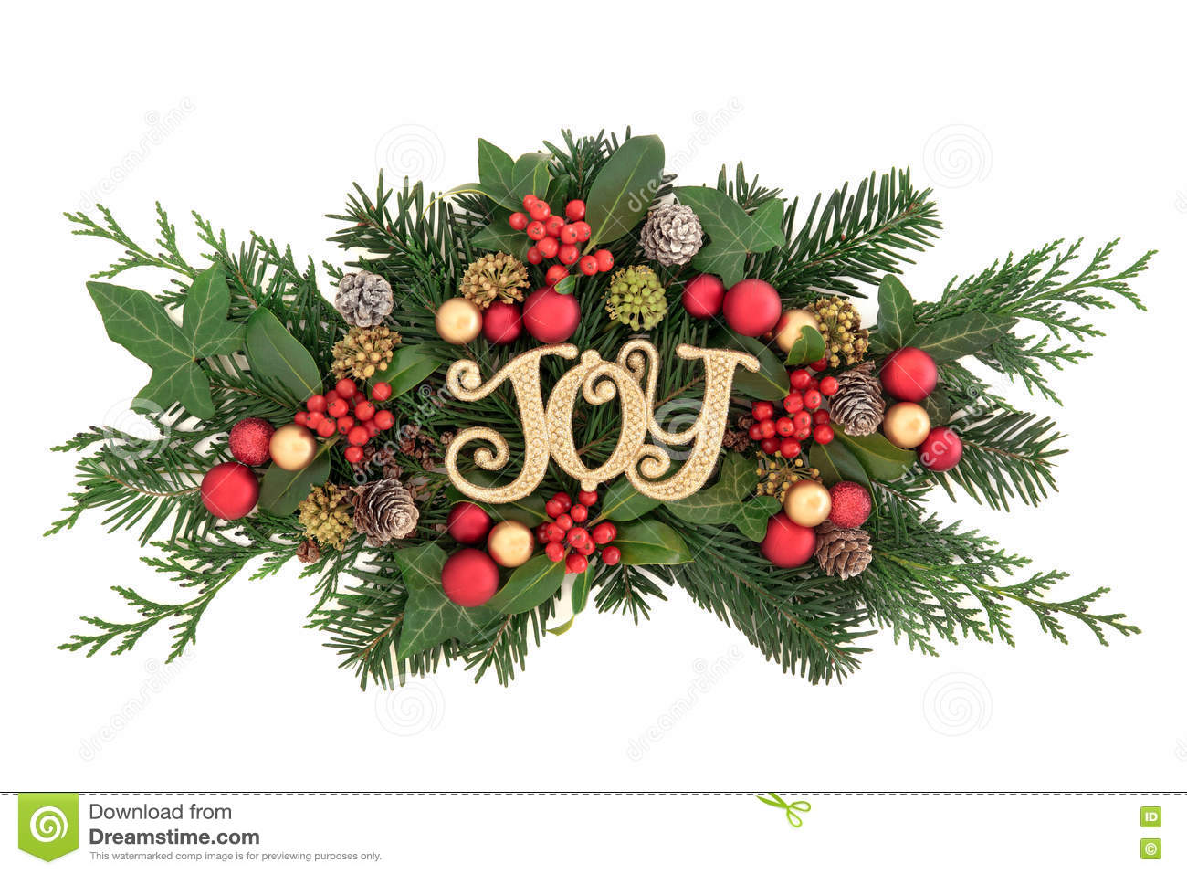 Christmas Joy Decoration stock image. Image of decorative - 78781209